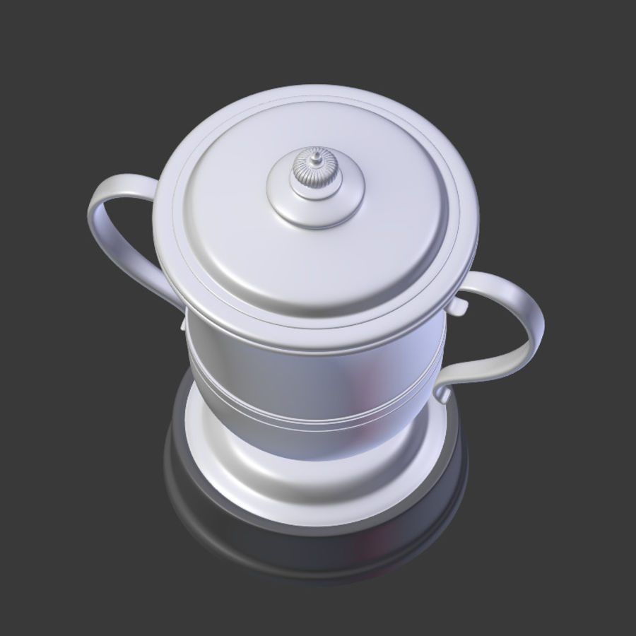 トロフィーカップV2 royalty-free 3d model - Preview no. 17