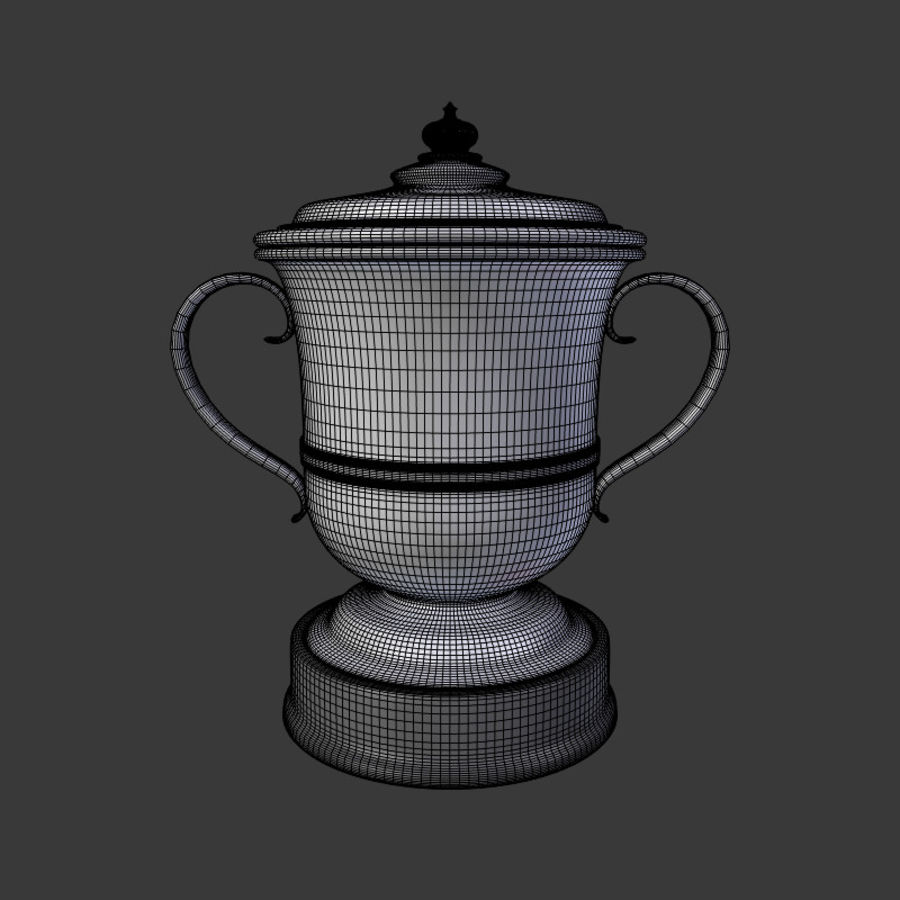 トロフィーカップV2 royalty-free 3d model - Preview no. 8