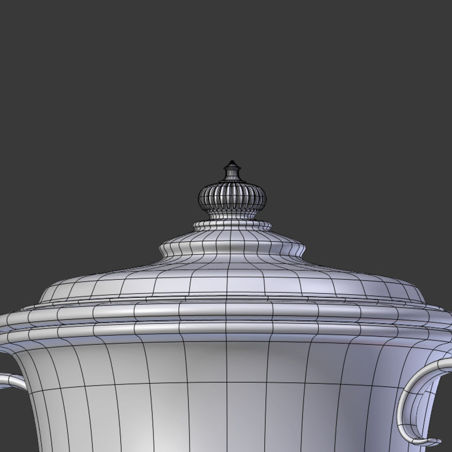 Trophy Cup V2 royalty-free 3d model - Preview no. 13