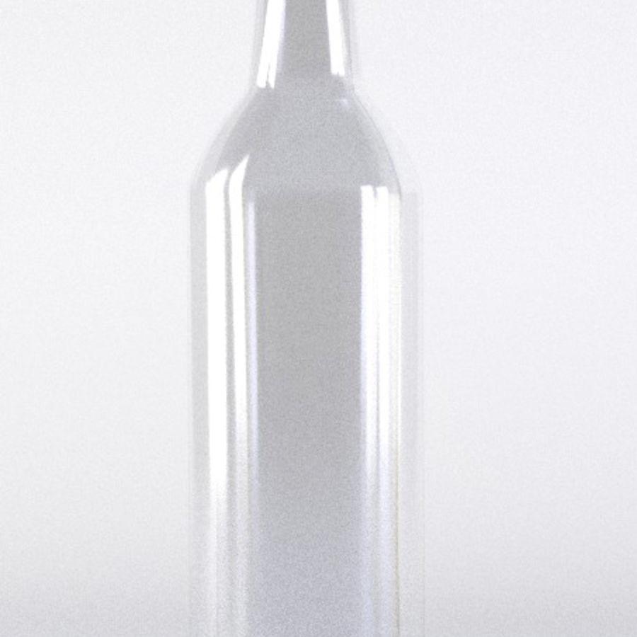 Olive Oil Bottle Set royalty-free 3d model - Preview no. 3