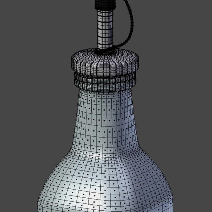 Olive Oil Bottle Set royalty-free 3d model - Preview no. 8