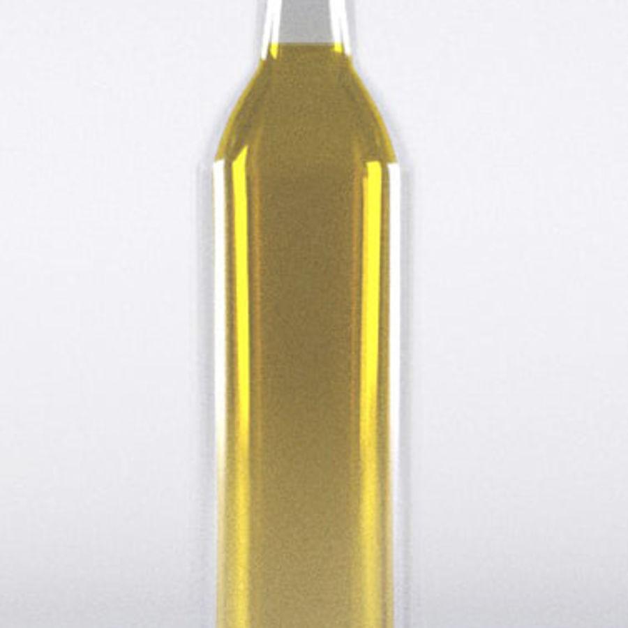 Olive Oil Bottle Set royalty-free 3d model - Preview no. 4