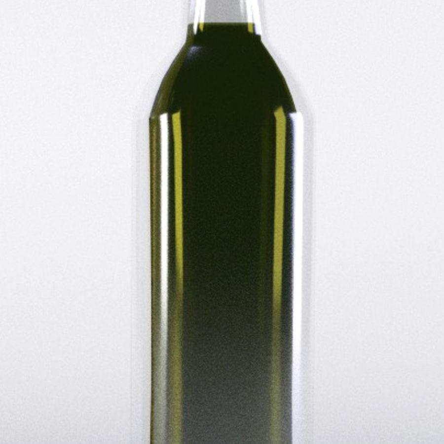 Olive Oil Bottle Set royalty-free 3d model - Preview no. 5