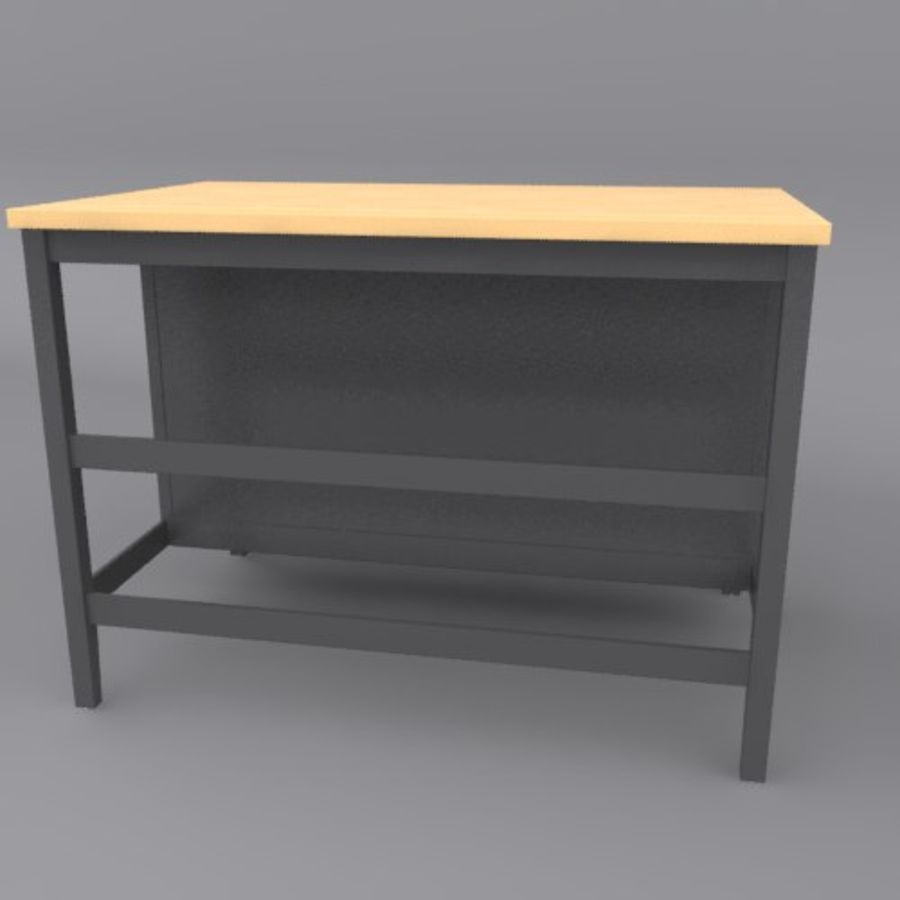Kitchen Island royalty-free 3d model - Preview no. 4