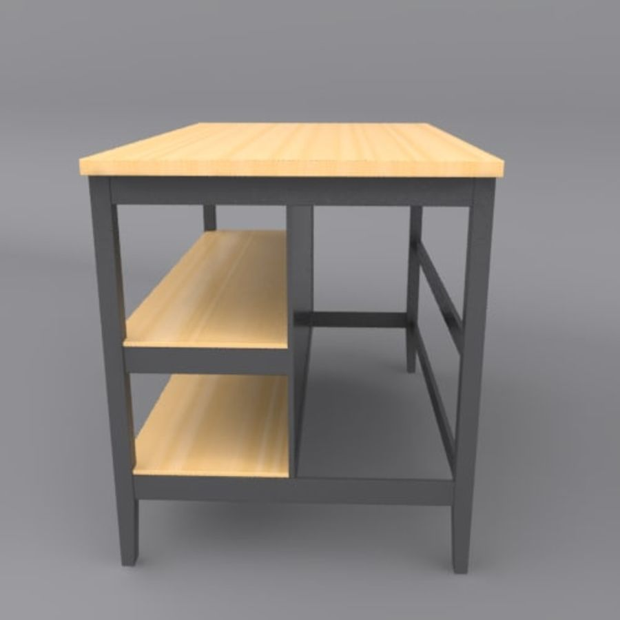 Kitchen Island royalty-free 3d model - Preview no. 2