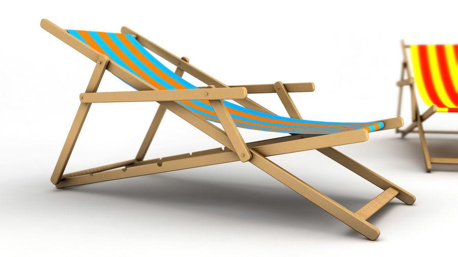 Lige ud Strand stol 3D-modell $3 - .max - Free3D UP93