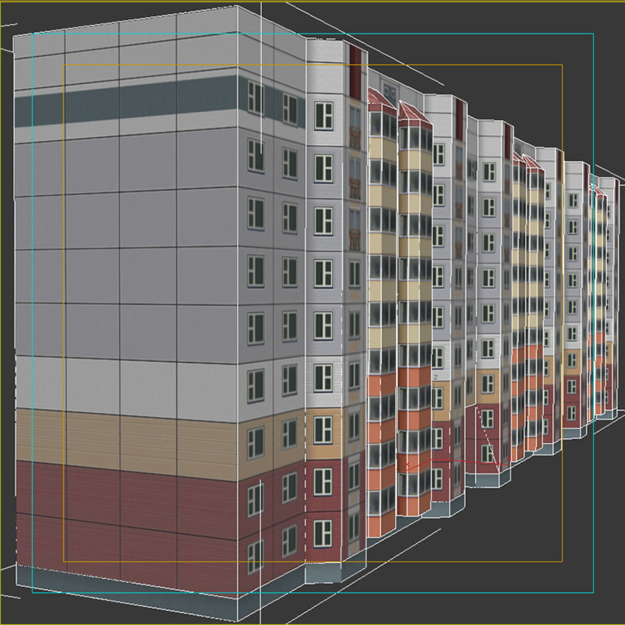 House_Environment32 royalty-free 3d model - Preview no. 12