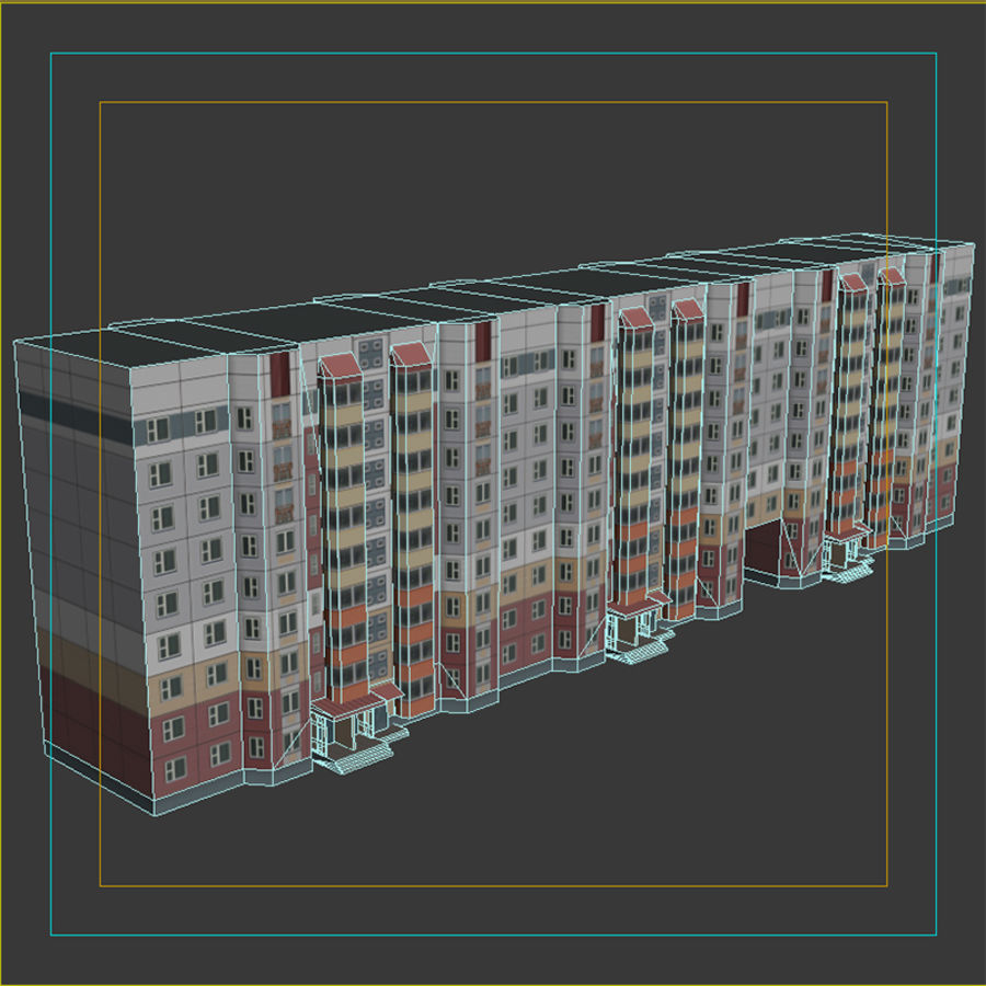 House_Environment32 royalty-free 3d model - Preview no. 9