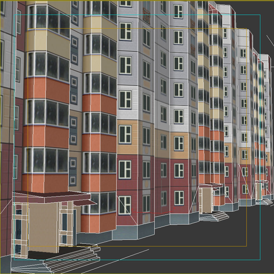 House_Environment32 royalty-free 3d model - Preview no. 10