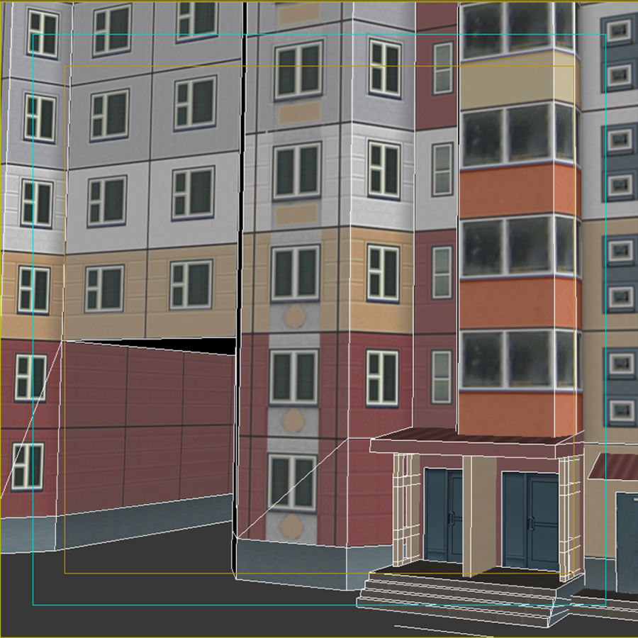 House_Environment32 royalty-free 3d model - Preview no. 14