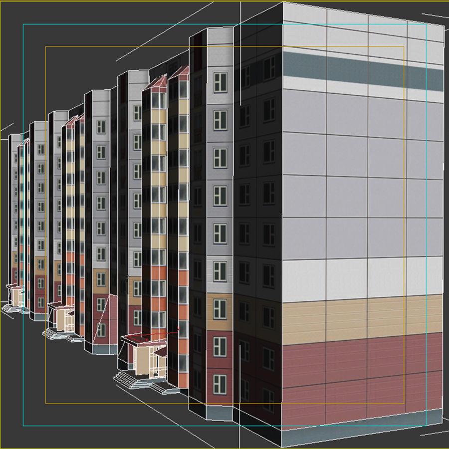 House_Environment32 royalty-free 3d model - Preview no. 13