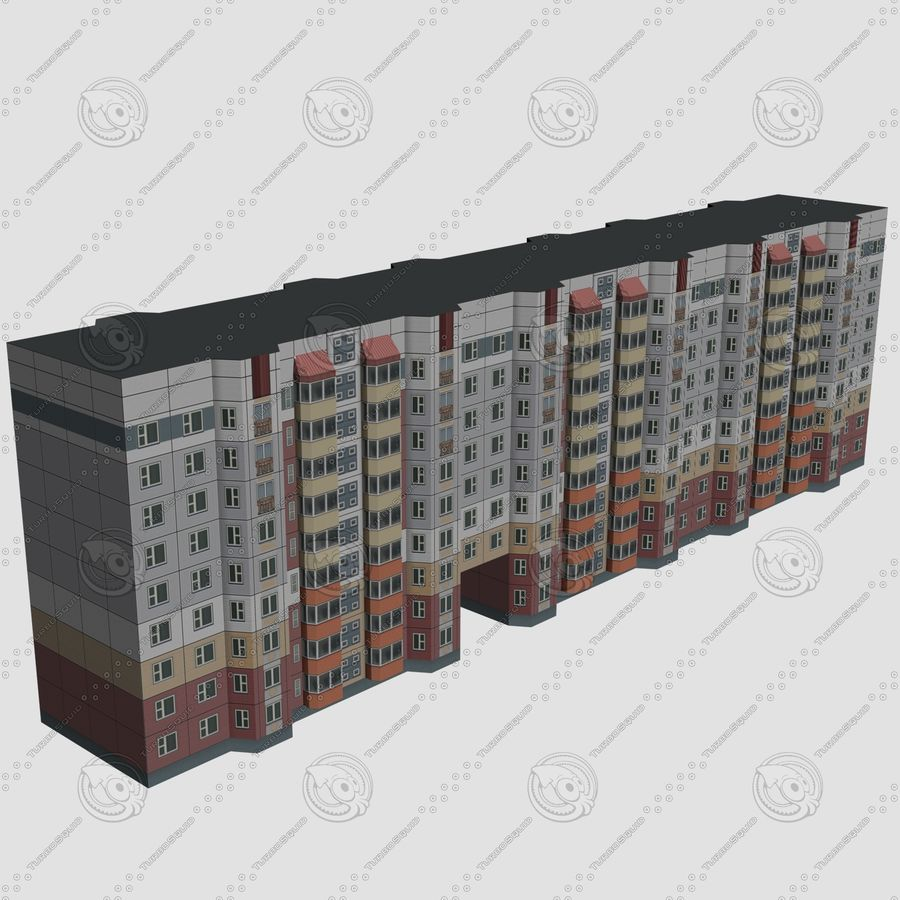 House_Environment32 royalty-free 3d model - Preview no. 4