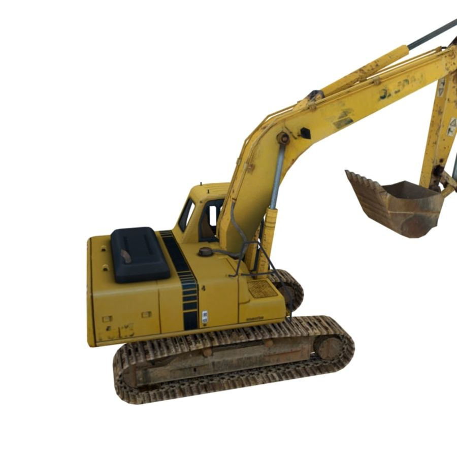 Excavator royalty-free 3d model - Preview no. 3