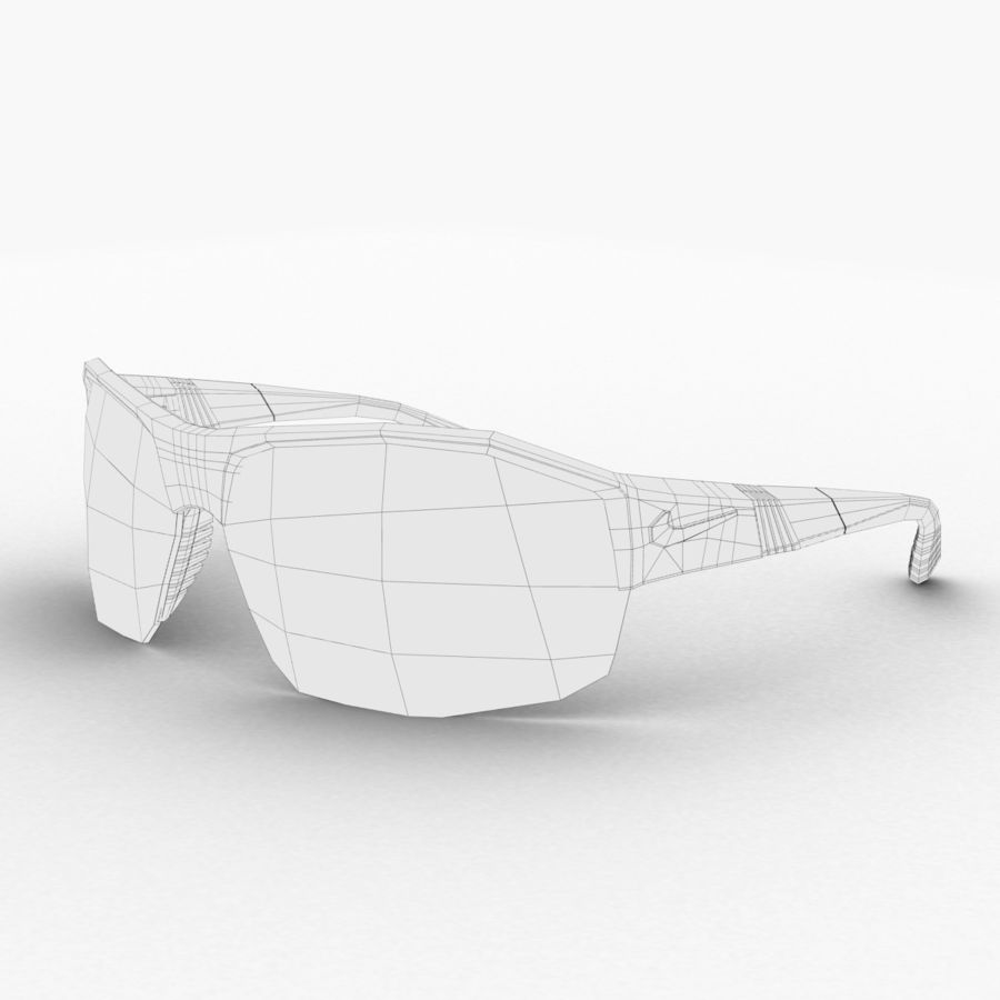 Nike Show X2 Sunglasses royalty-free 3d model - Preview no. 7