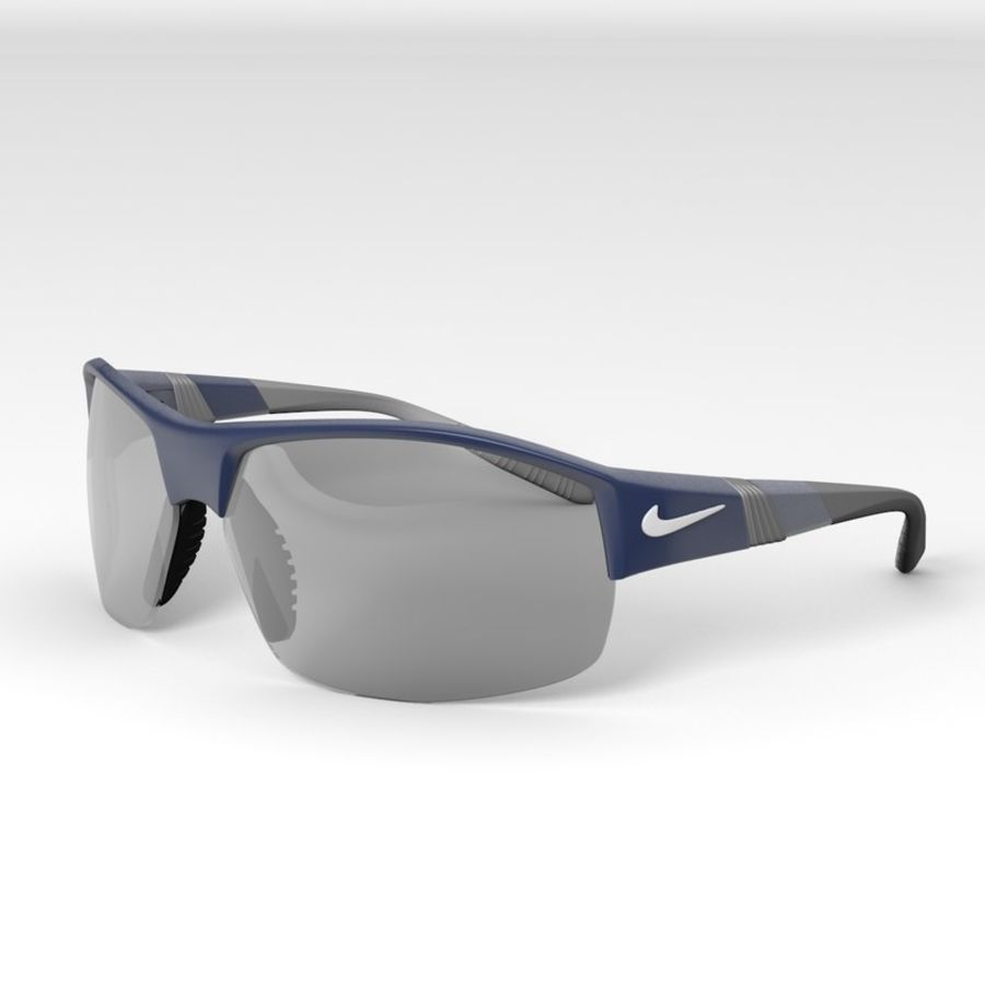 Nike Show X2 Sunglasses royalty-free 3d model - Preview no. 1