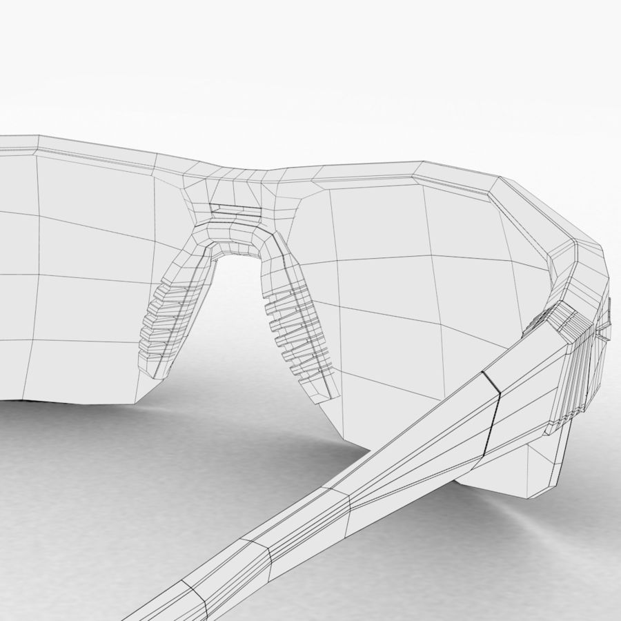 Nike Show X2 Sunglasses royalty-free 3d model - Preview no. 9
