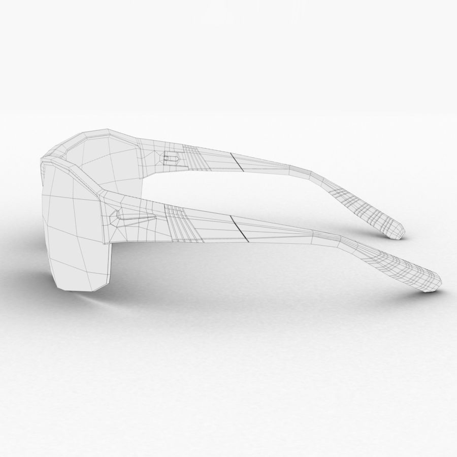 Nike Show X2 Sunglasses royalty-free 3d model - Preview no. 8