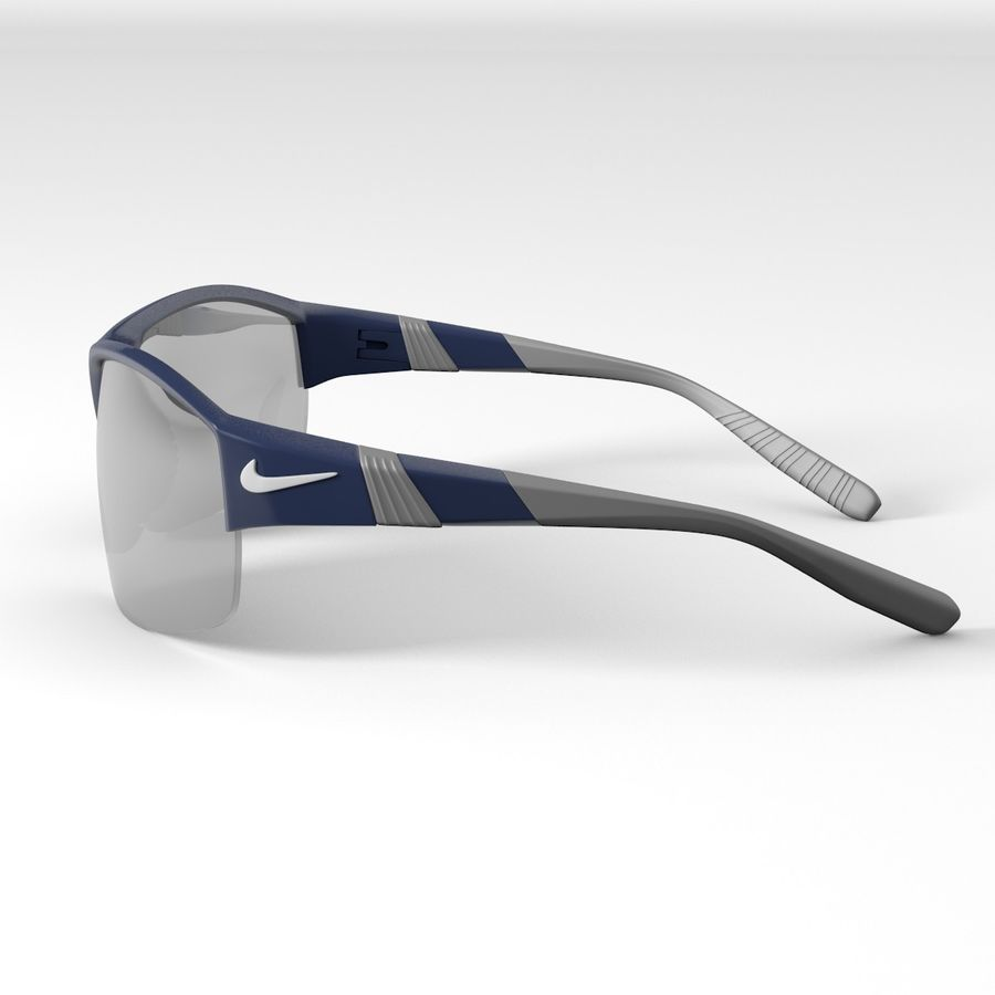 Nike Show X2 Sunglasses royalty-free 3d model - Preview no. 2
