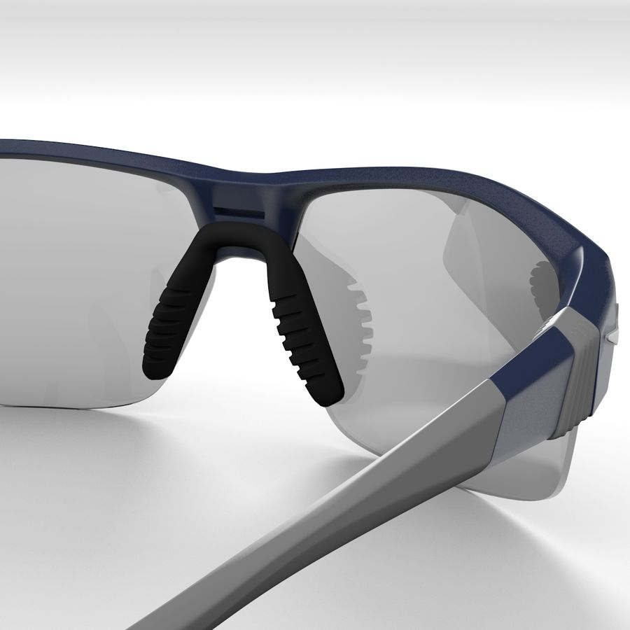 Nike Show X2 Sunglasses royalty-free 3d model - Preview no. 3