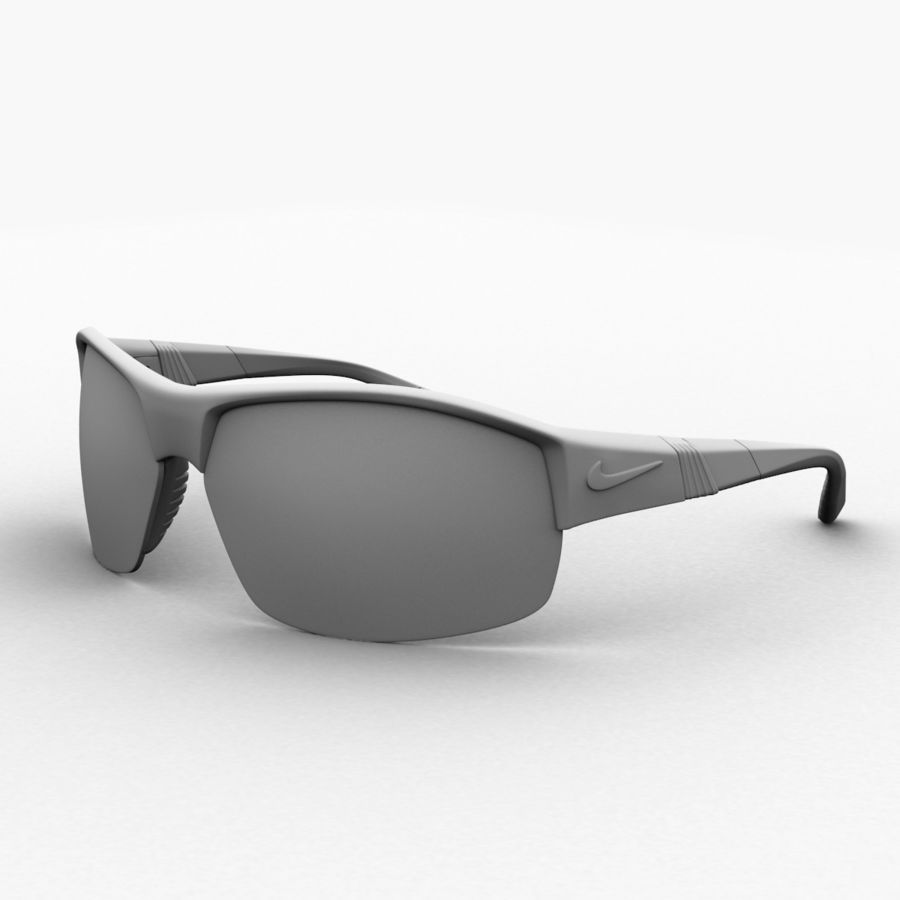 Nike Show X2 Sunglasses royalty-free 3d model - Preview no. 11