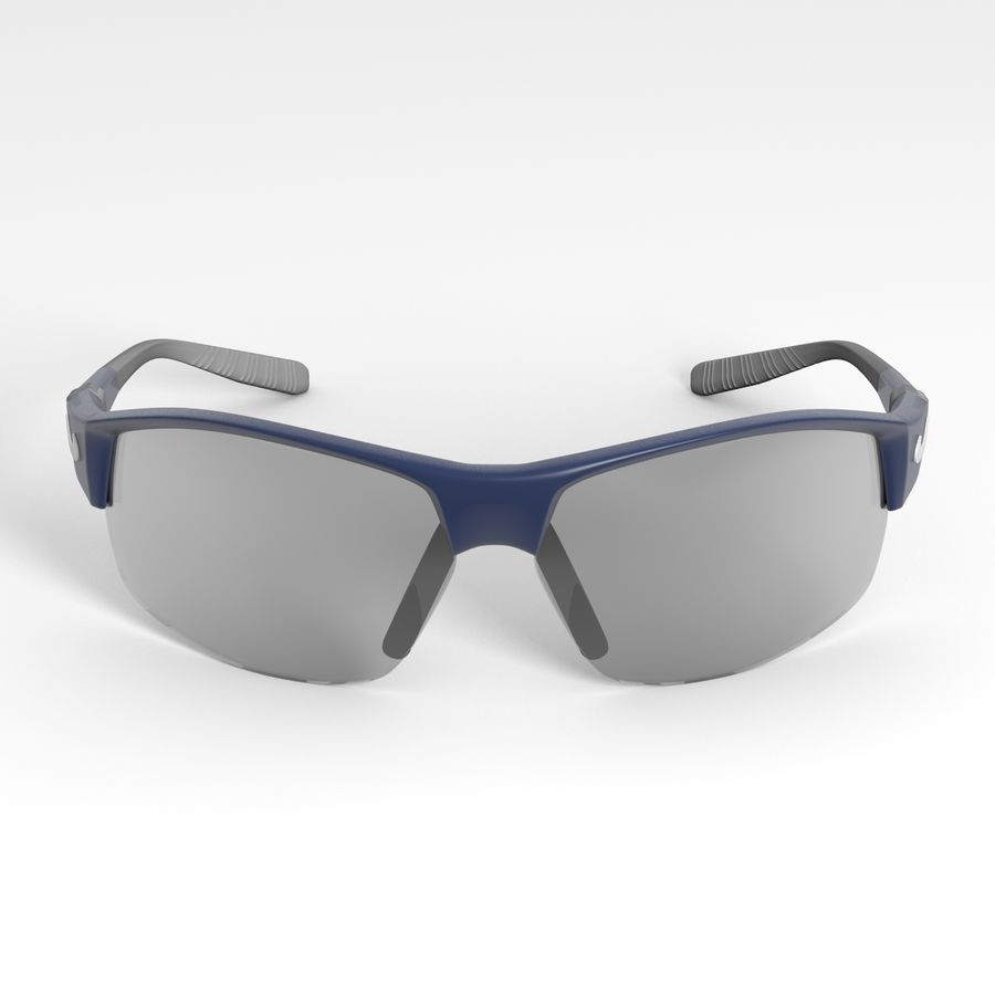 Nike Show X2 Sunglasses royalty-free 3d model - Preview no. 6