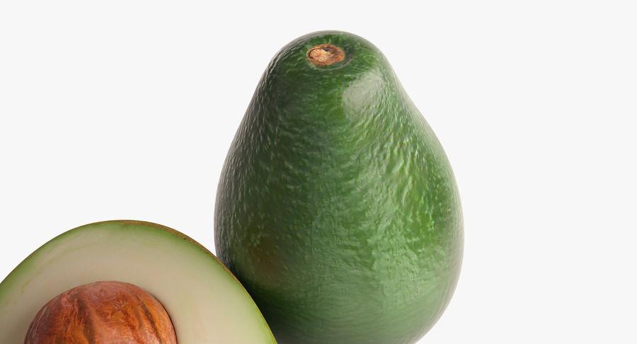 Фотореалистичная авокадо royalty-free 3d model - Preview no. 7