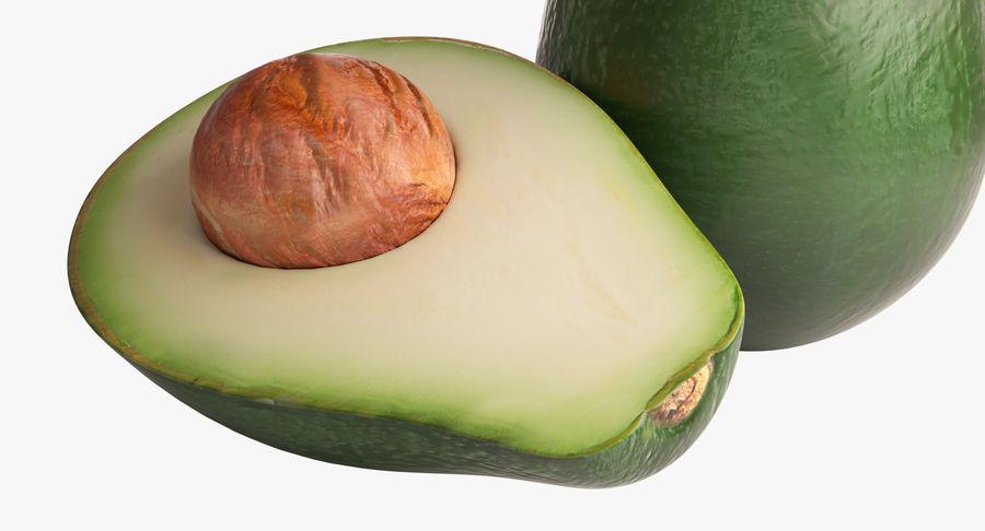 Фотореалистичная авокадо royalty-free 3d model - Preview no. 6
