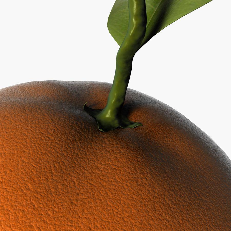 Orange frukt royalty-free 3d model - Preview no. 10