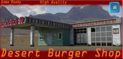 Highway Motel 3d model