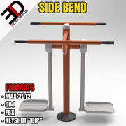 OUTDOOR SIDE BEND 3d model