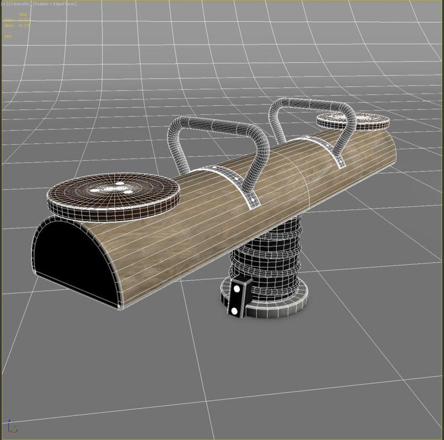 tilt_swing_slotsbro_NRO103 royalty-free 3d model - Preview no. 2