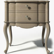 Hooker Furniture Nightstand SKU3023-90116 3d model