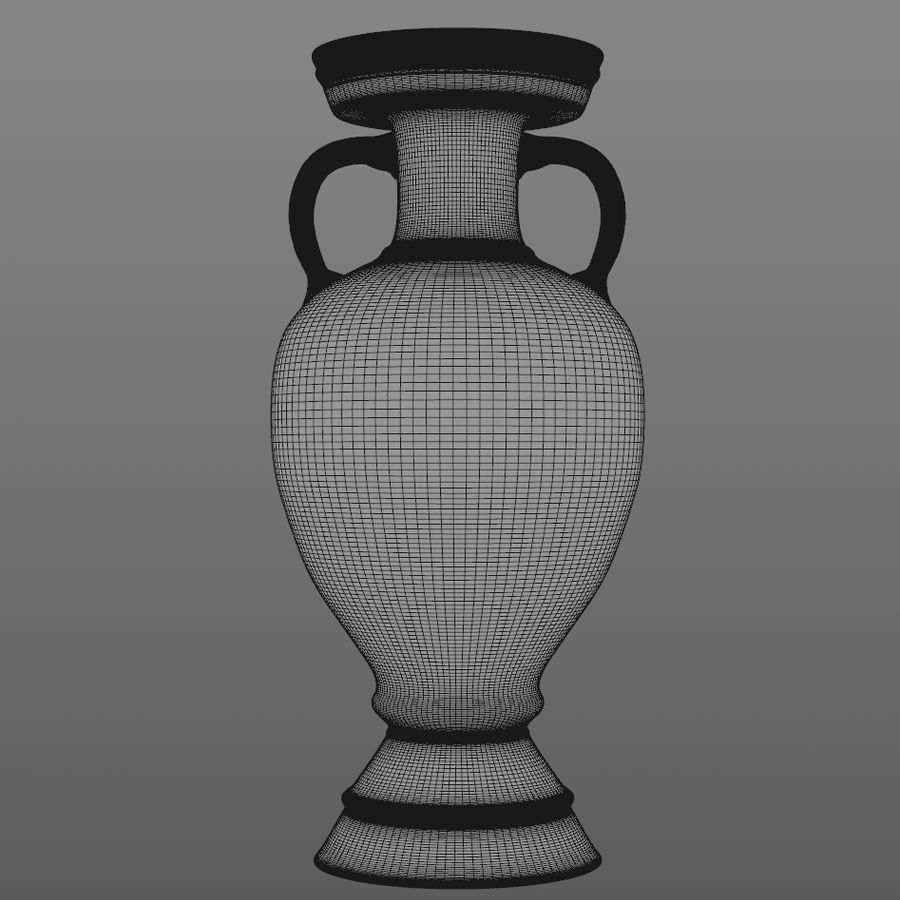 Coupe du trophée royalty-free 3d model - Preview no. 6
