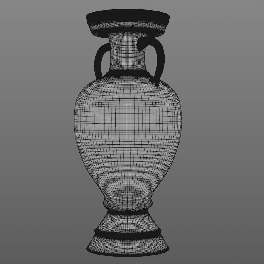 Coupe du trophée royalty-free 3d model - Preview no. 7