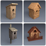 Collection de nichoirs 3d model
