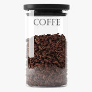 Coffe Jar 3d model
