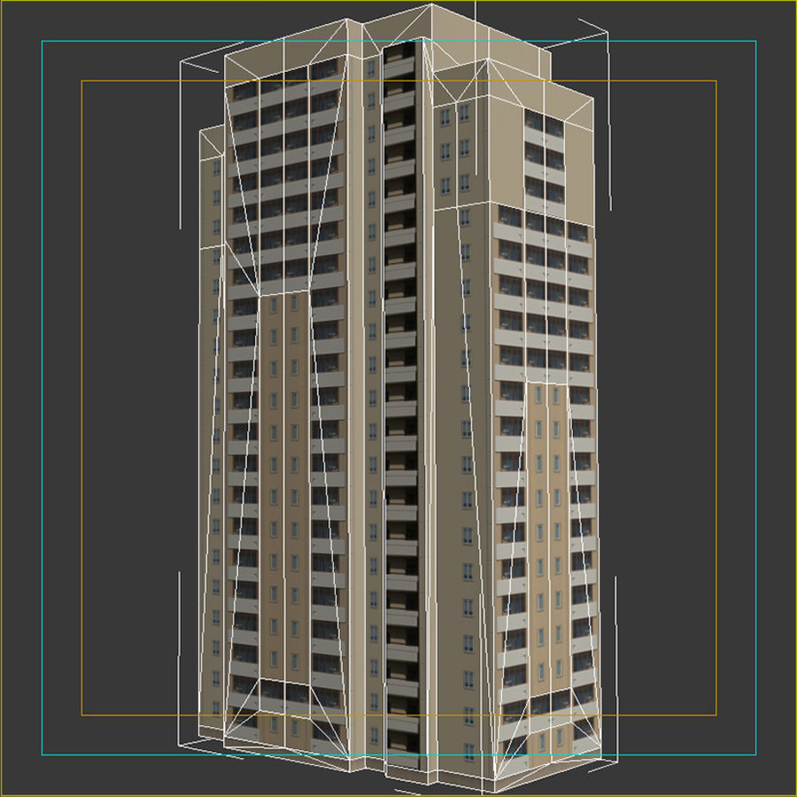 House_Environment45 royalty-free 3d model - Preview no. 13