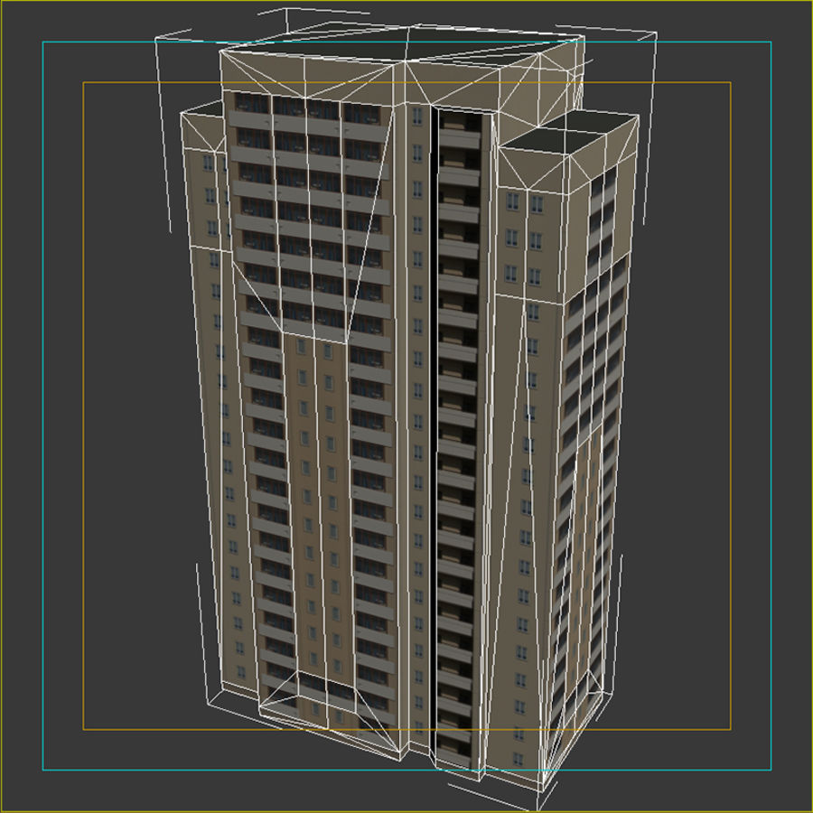 House_Environment45 royalty-free 3d model - Preview no. 18