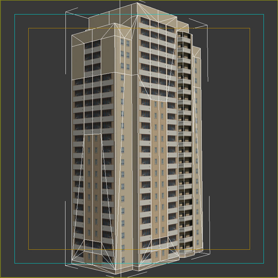 House_Environment45 royalty-free 3d model - Preview no. 15