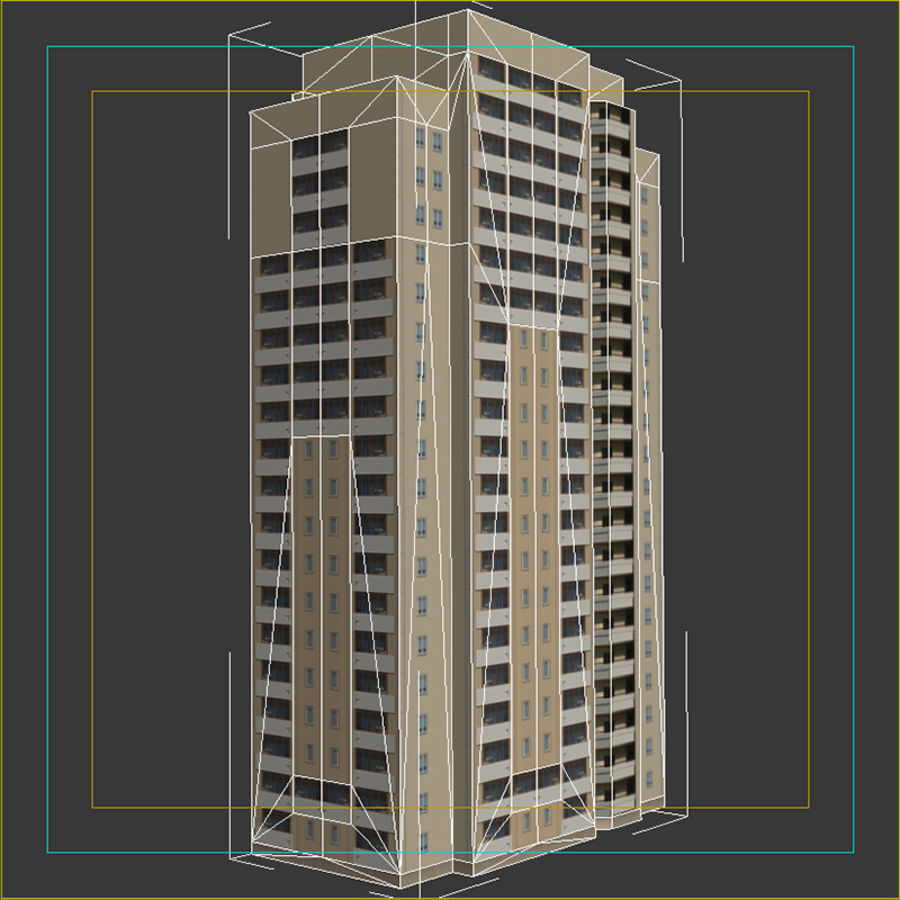 House_Environment45 royalty-free 3d model - Preview no. 11