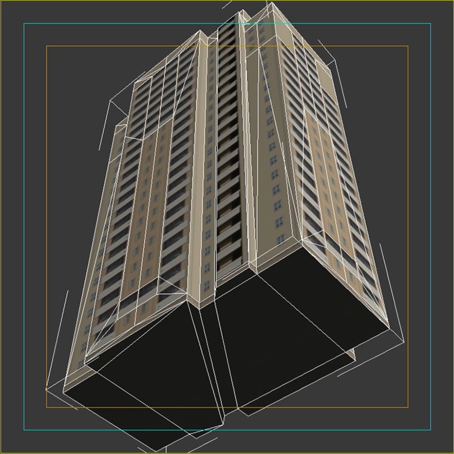 House_Environment45 royalty-free 3d model - Preview no. 17