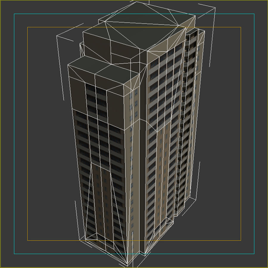 House_Environment45 royalty-free 3d model - Preview no. 16