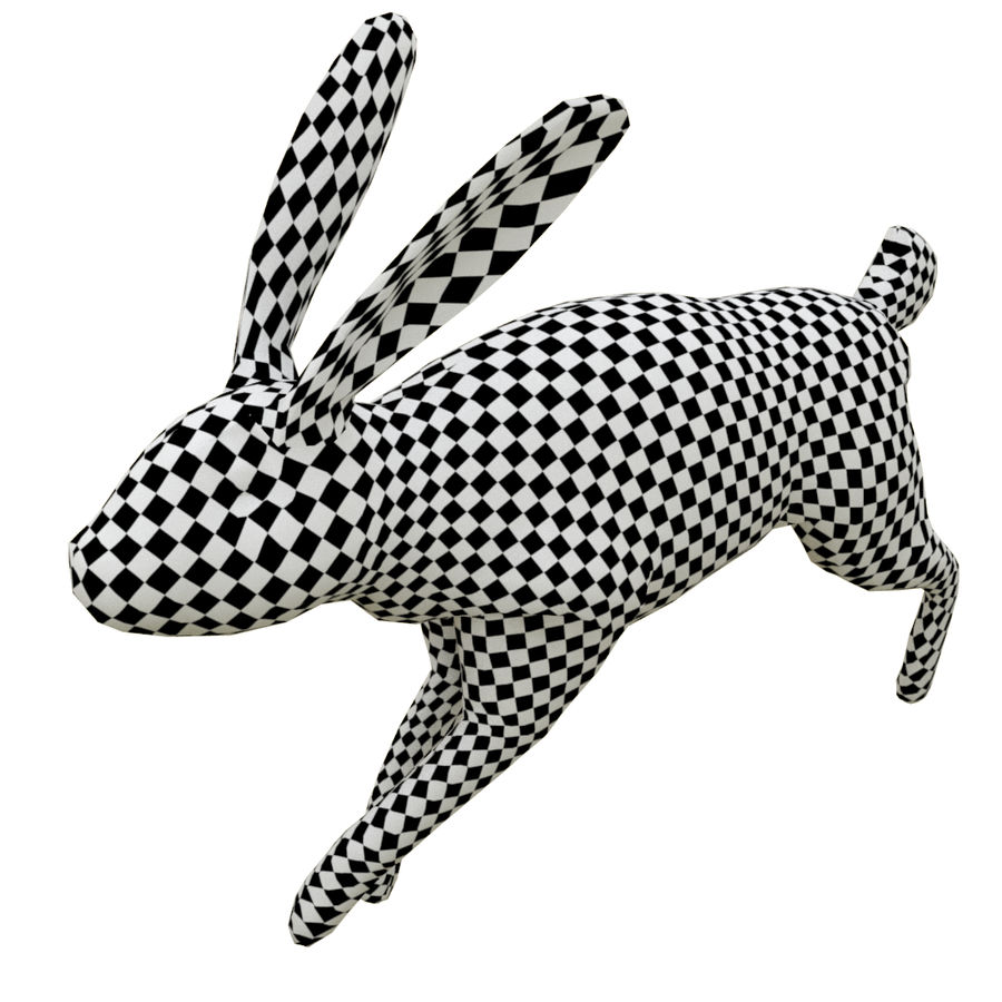 Hare_animated royalty-free 3d model - Preview no. 6