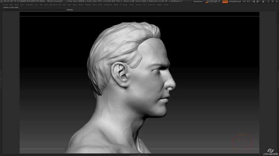 Anatomi avancerad royalty-free 3d model - Preview no. 12