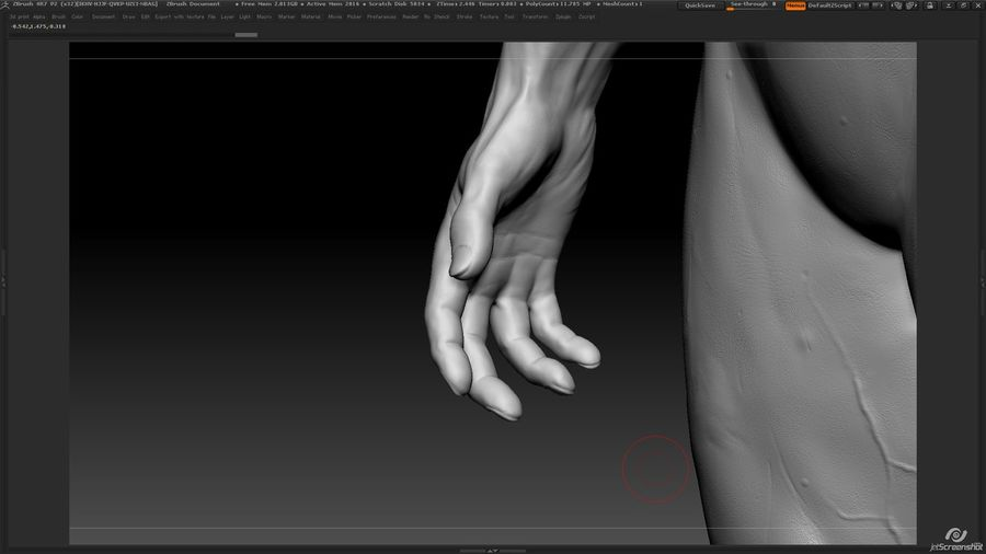 Anatomy advanced royalty-free 3d model - Preview no. 22