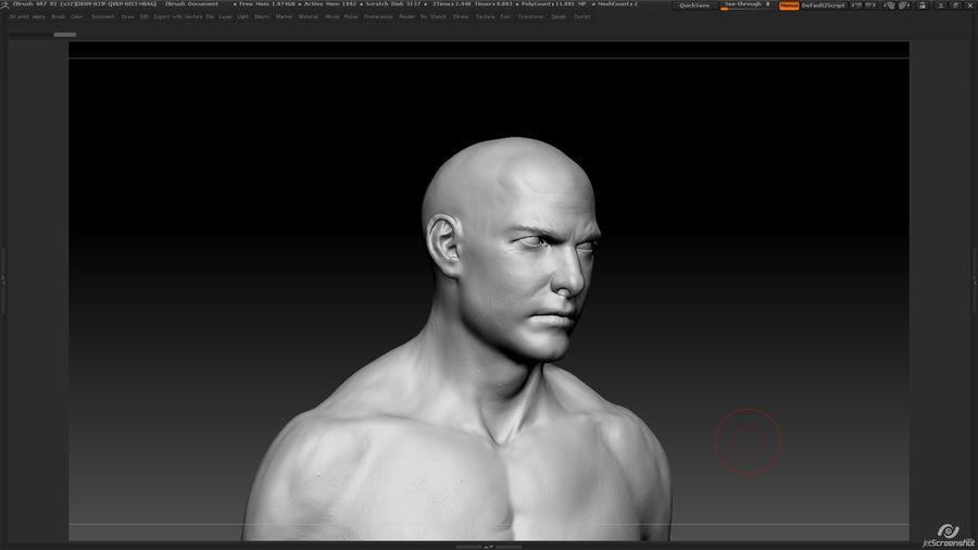 Anatomi avancerad royalty-free 3d model - Preview no. 13