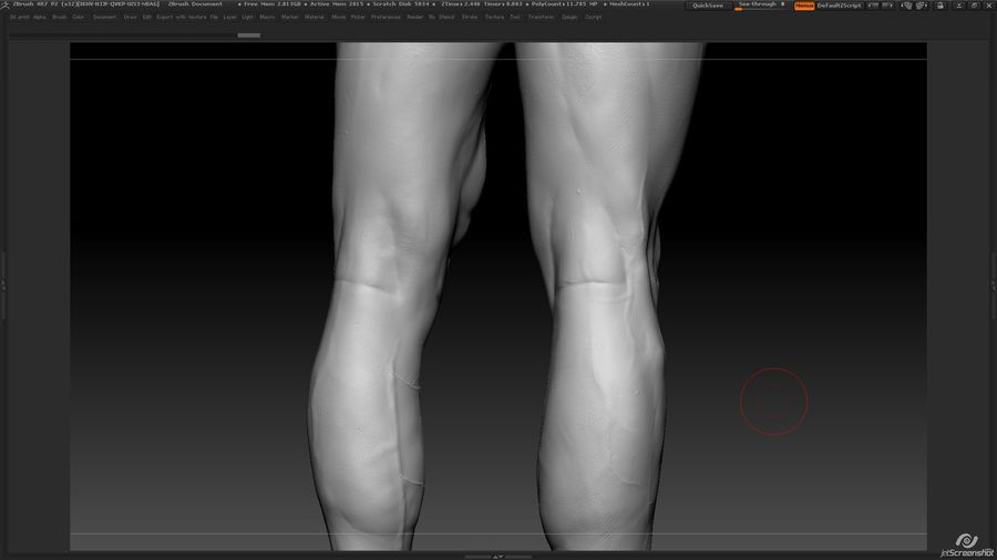 Anatomy advanced royalty-free 3d model - Preview no. 25