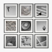Picture Frame Wall 15 3d model