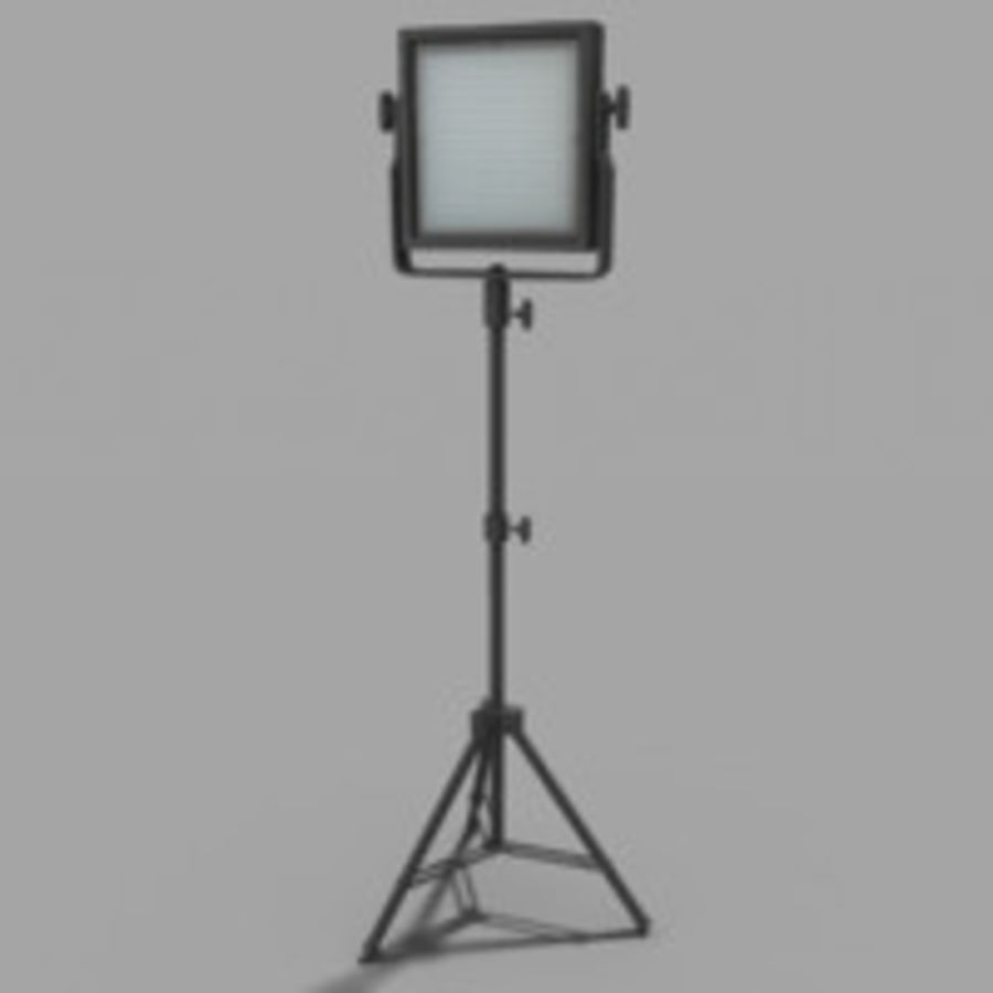 Pannello luminoso a LED royalty-free 3d model - Preview no. 1