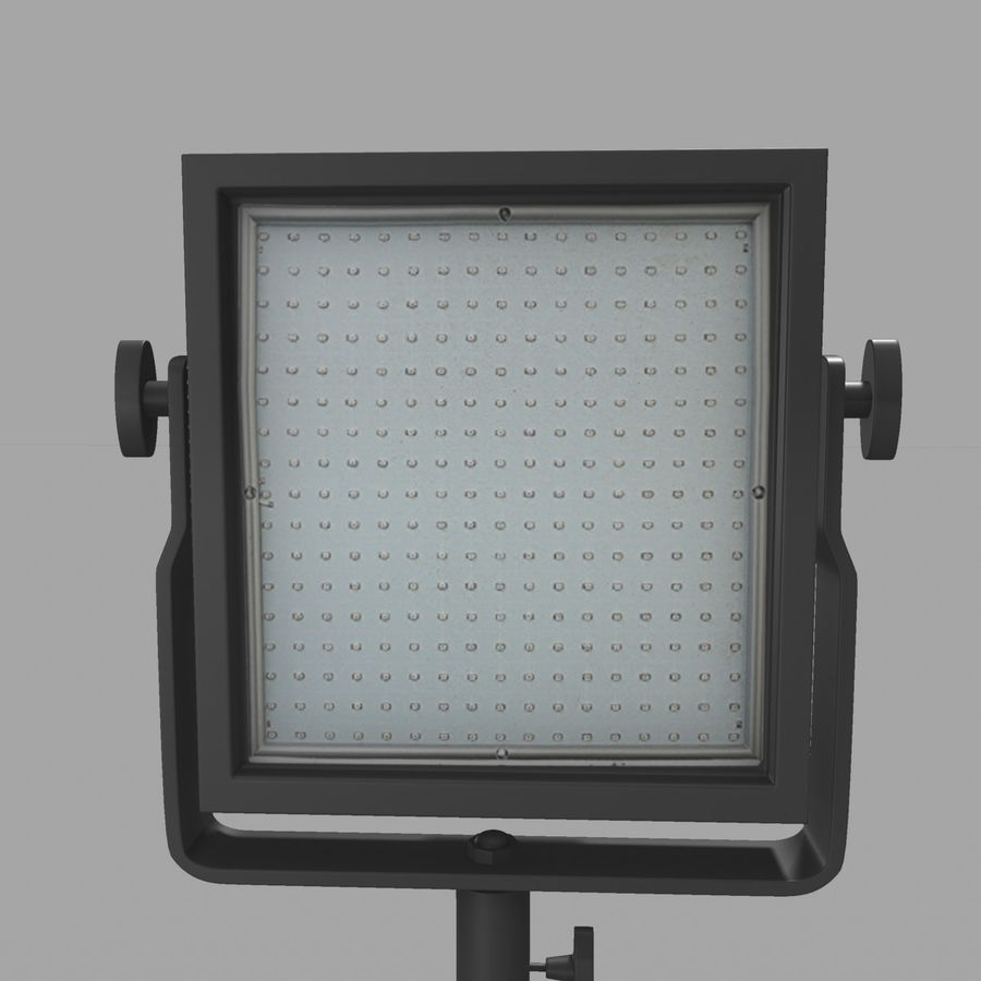 LED Light Panel royalty-free 3d model - Preview no. 8